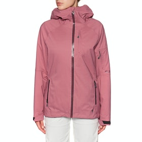 Blouson pour Snowboard Femme Black Diamond BoundaryLine Insulated - Wild Rose