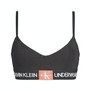 Calvin Klein Monogram Unlined Triangle Bra