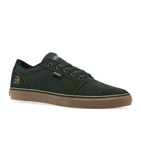 Etnies Barge LS Shoes - Green Gum