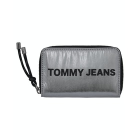 Tommy Jeans Item Sm Za Womens ウォレット - Silver
