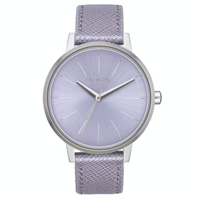 Nixon Kensington Leather Womens Watch - Lavender