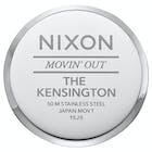 Nixon Kensington Leather Ladies Watch
