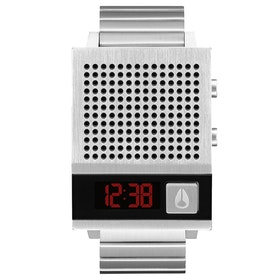 Nixon Dork Too Watch - Silver