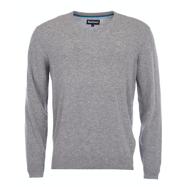 Barbour Essential Lambswool V Neck Men's Sweater