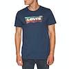 T-Shirt a Manica Corta Levis Housemark Graphic - Hm Ssnl Dress Blues