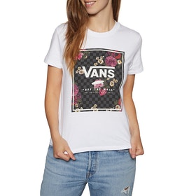 Vans Boxed Botanic Womens Short Sleeve T-Shirt - White