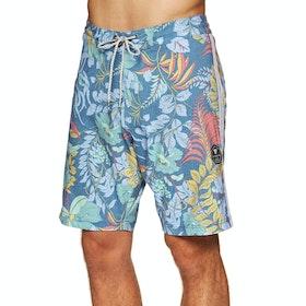 Vissla Kookabura 19.5 Boardshorts - Ocean Blue
