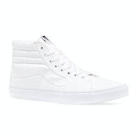Vans Sk8 Hi Shoes - True White