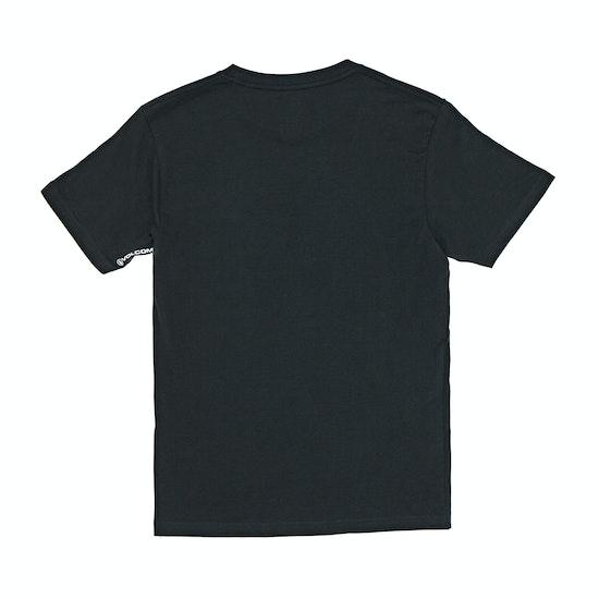 Volcom Crisp Stone Bsc Boys Short Sleeve T-Shirt