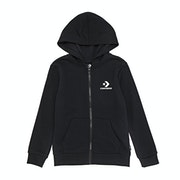 Converse Stacked Wordmark Full Zip Hoodie Boys Zip Hoody