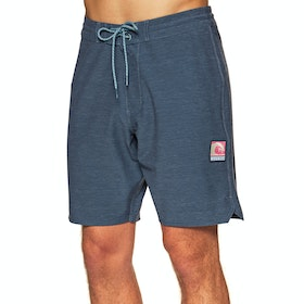 Vissla Solid Sets 18.5 Boardshorts - Dark Denim
