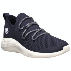 Timberland Flyroam Go Knit Ox Trainers - Navy Knit