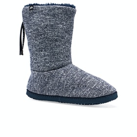 Animal Bollo Boot Womens Slippers - Indigo Blue