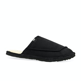 Animal Halfpipe Slippers - Black
