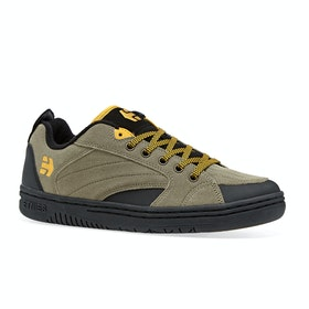 Etnies Czar Shoes - Olive Black