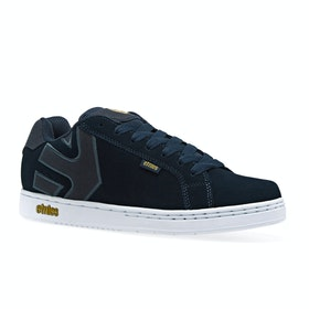 Etnies Fader Shoes - Navy
