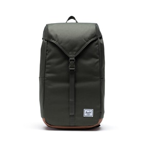 Herschel Thompson Backpack - Dark Olive/saddle Brown