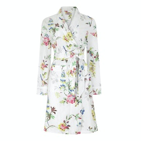 Cath Kidston Cotton Women's Dressing Gown - Birds Roses