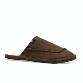 Animal Halfpipe Slippers - Coffee Brown