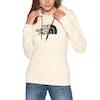 North Face Drew Peak Womens Pullover Hoody - Vintage White TNF Black
