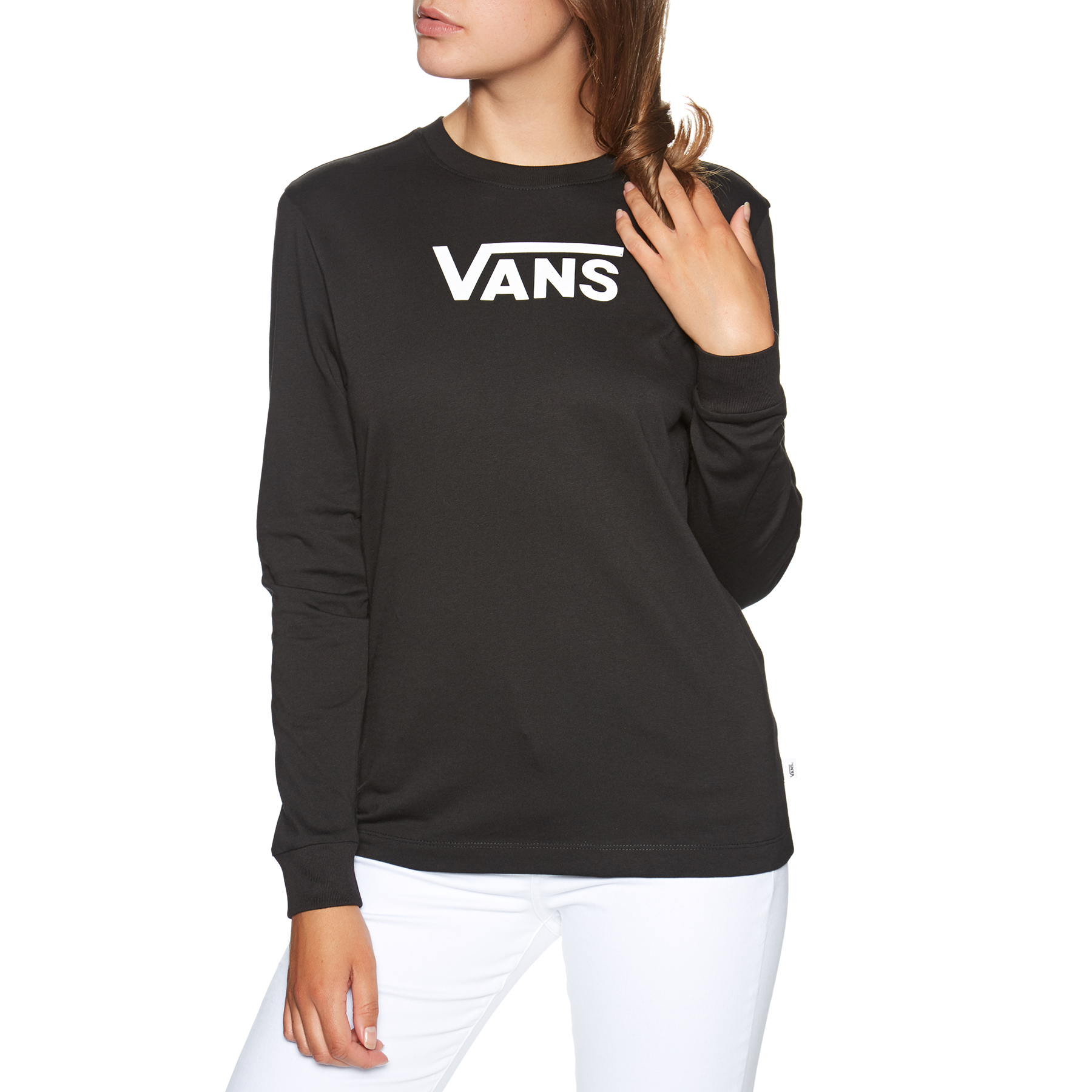 Vans Tee Shirt Manches Longues Femme Flying V Classic