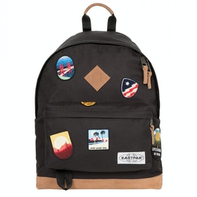 Eastpak Wyoming Backpack - Into Patch Black
