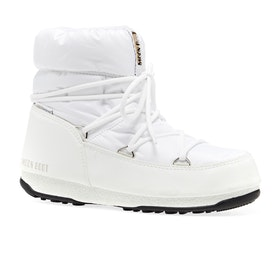 Bottes Femme Moon Boot Low Nylon WP 2 - White