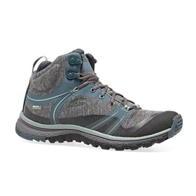 Keen Terradora Mid WP Womens Walking Boots - Stormy Weather Wrought Iron