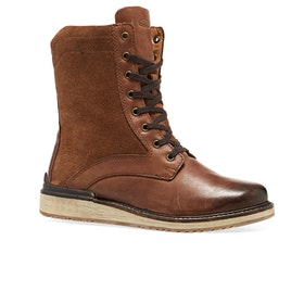 Keen Bailey Lace Boot Womens Boots - Cognac