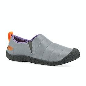 Keen Howser II Womens Slippers - Steel Grey Royal Lilac