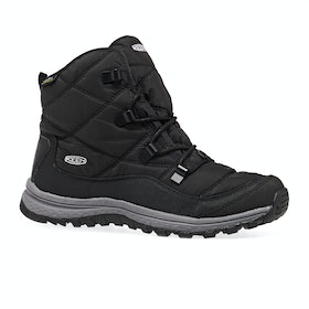 Keen Terradora Ankle Waterproof Womens Walking Boots - Black Steel Grey