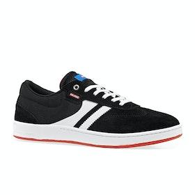 Globe Empire Shoes - Black White Milou