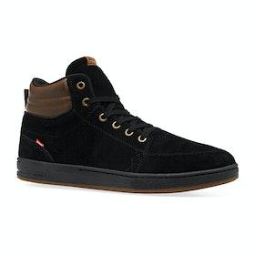 Globe GS Boots - Black Brown