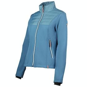Horze Maeve Softshell Hybrid Ladies Riding Jacket - Marine Blue