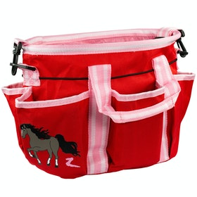 Horze Scout Grooming Bag - Aurora Red Lilac