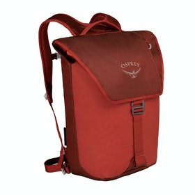 Osprey Transporter Flap Backpack - Ruffian Red