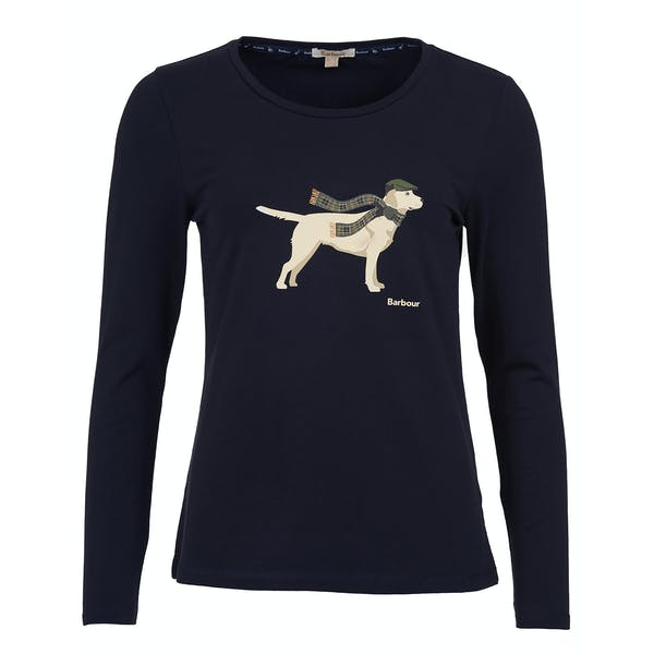 Barbour Dales Women's Long Sleeve T-Shirt