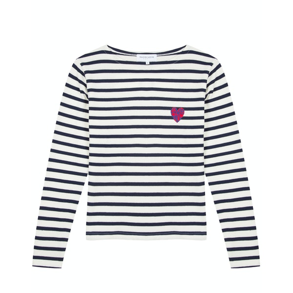 T-Shirt de Manga Comprida Senhora Maison Labiche Sailor Love Is All