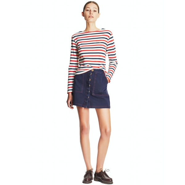 Maison Labiche Sailor Crazy In Love Damen Langarm-T-Shirt