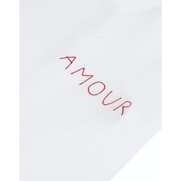 Maison Labiche Oversized Amour Kvinner Kortermet t-skjorte
