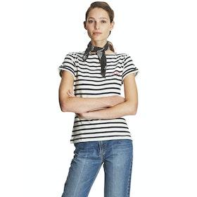 Maison Labiche A La Folie Women's Short Sleeve T-Shirt - Ivory Navy