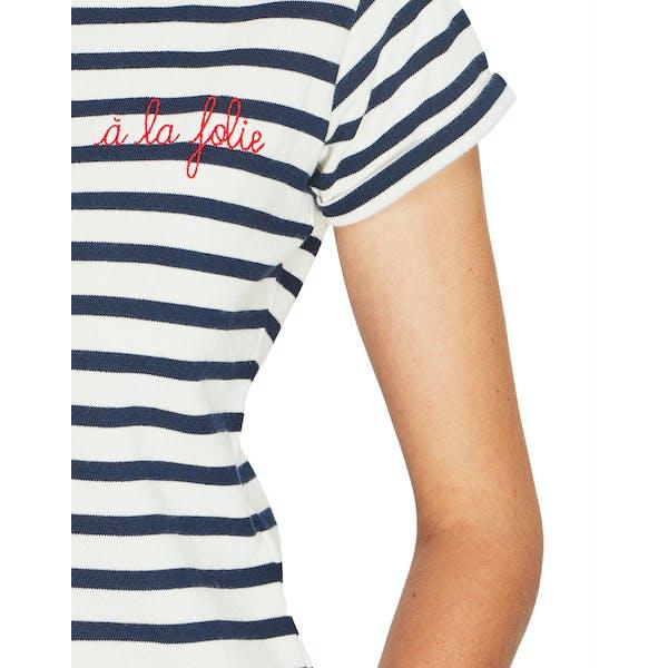 Maison Labiche A La Folie Damen Kurzarm-T-Shirt