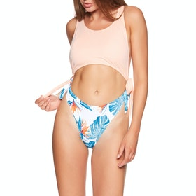 Maillot de Bain Femme Roxy Sum Del - Bright White Midnight