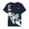 Converse Chucks Wrap Short Sleeve T-Shirt - Obsidian