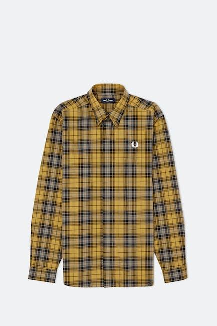 Fred Perry Bold Tartan L S Shirt
