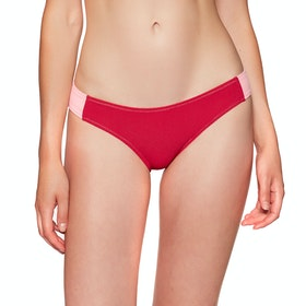 Rip Curl Eightees Good Bikini Bottoms - Coral Blush