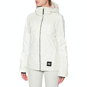 O'Neill Wavelite Snow Jacket - White Green