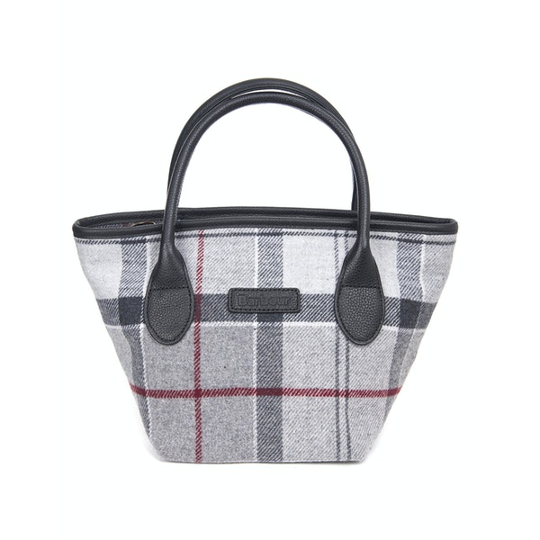 Barbour Tartan Mini Tote Women's Handbag