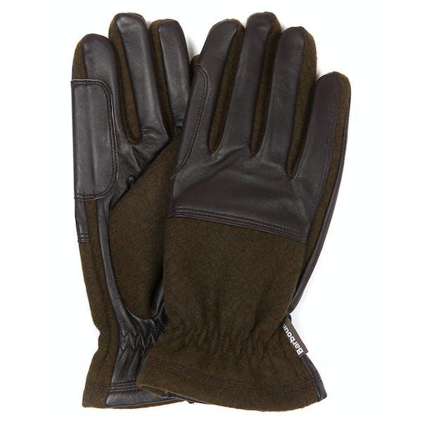 Barbour Rugged Melton Men's Gloves
