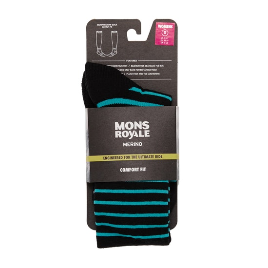 Mons Royale Lift Access Womens Fashion Socks